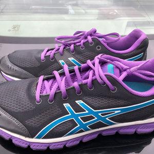 Asics Gel Flash Women's Purple /Gray Sneakers